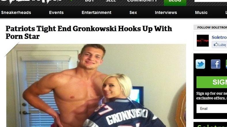 Gwiazda NFL i aktorka porno