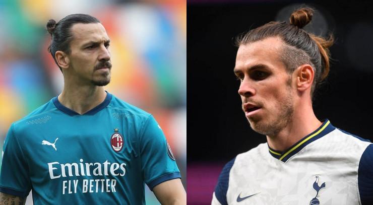 Zlatan Ibrahimović i Geret Bejl