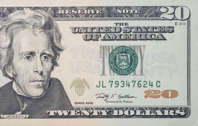 Novčanica od 20 dolara