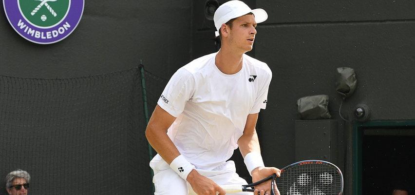 Berrettini rywalem Hurkacza w półfinale Wimbledonu. Trenerem Włocha jest zięć Zbigniewa Bońka