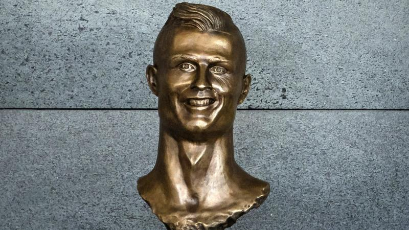 Popiersie Cristiano Ronaldo