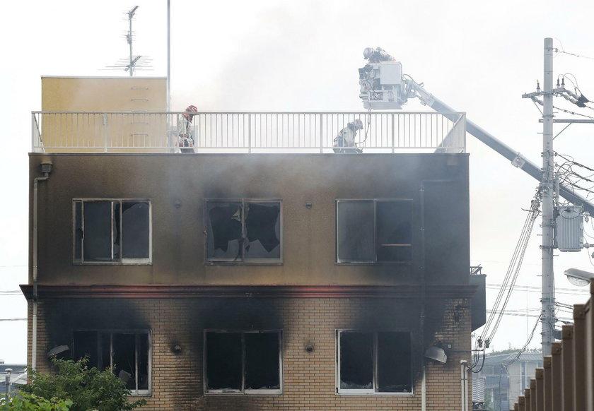 Podpalenie japońskiego studia animacji Kyoto Animation Studio
