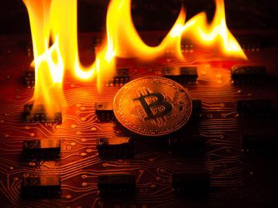 Bitcoin, podobnie jak niemal wszystkie kryptowaluty, mocno traci w połowie stycznia