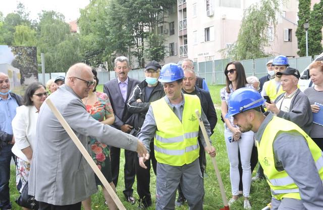 Goran Vesić na gradilištu