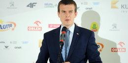 Minister sportu mówi, że to teraz najważniejszy problem