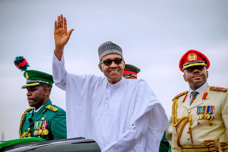 President Buhari participates in Swearing-In Ceremony at the Eagle Square in Abuja on 29th May 2019 (Facebook/Femi Adesina)
