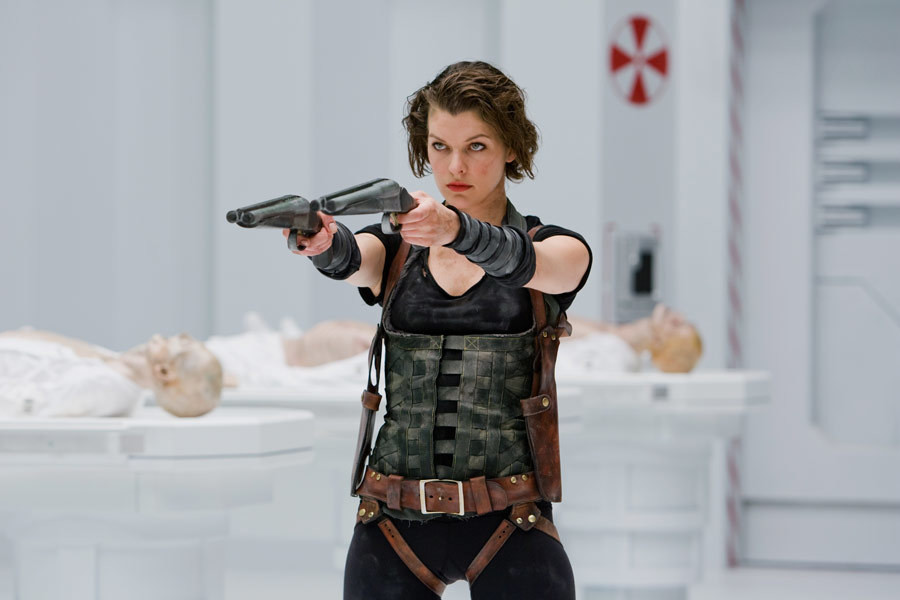 "Milla Jovovich jako Alice w filmie ""Resident Evil: Afterlife"" (2010)"