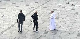 Jan Paweł II na rynku w Wadowicach?! Ludzie żegnali się i klękali