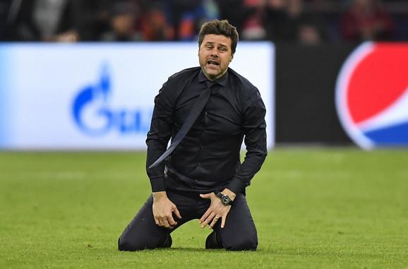Mauricio Poketino nakon plasmana Totenhema u finale Lige šampiona nije mogao da obuzda emocije