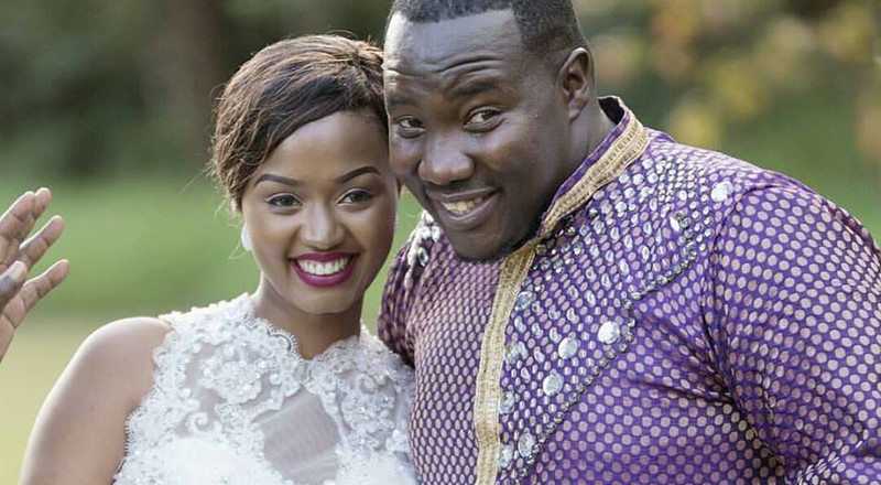 Yes I'm back – Wilis Raburu's wife