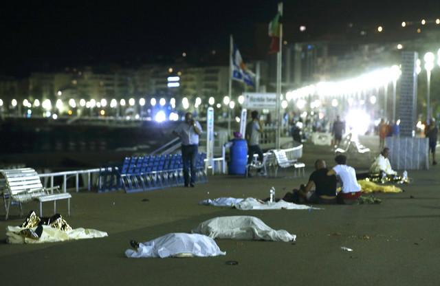 Zastrašujuće scene nakon masakra u Nici