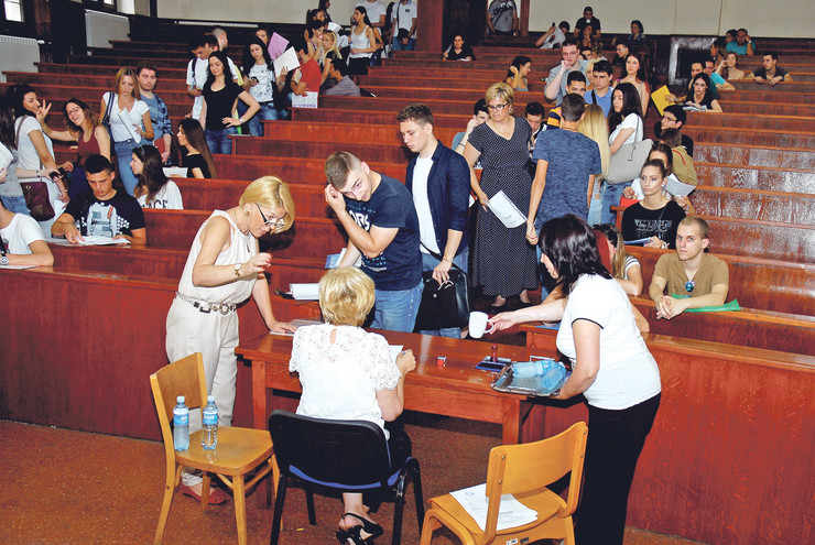 Najtraženiji studijski program prema broju prijavljenih i planiranih studenata bili su psihologija, stomatologija i informatika