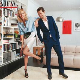 Anja Rubik i Sasza pokazują swoje mieszkanie w Nowym Jorku