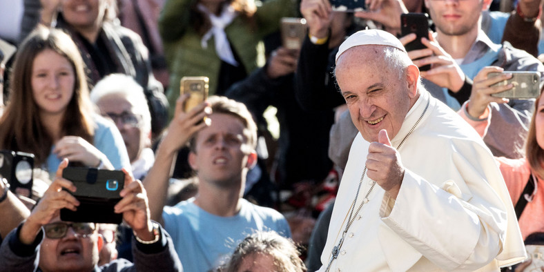 Pope Francis (AFP)