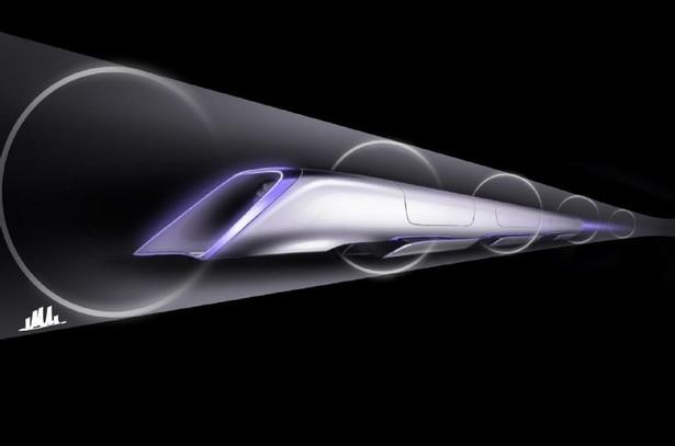 Hyperloop - wizualizacja kapsuły Fot. Teslamotors.com