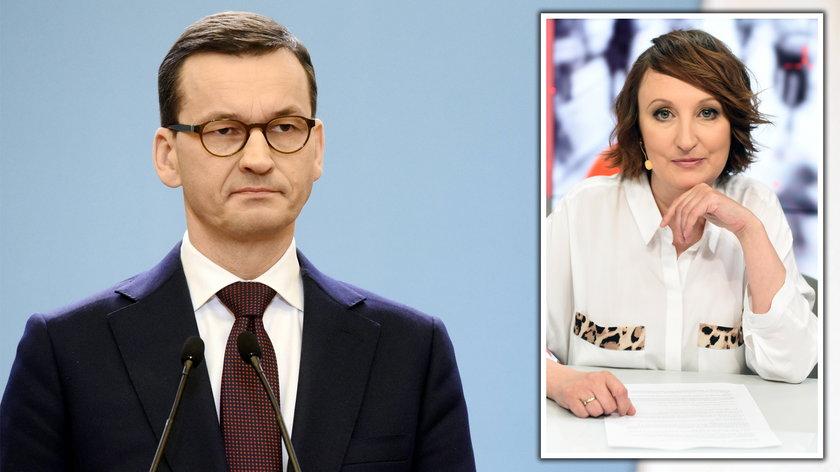 Agnieszka Burzyńska, Mateusz Morawiecki