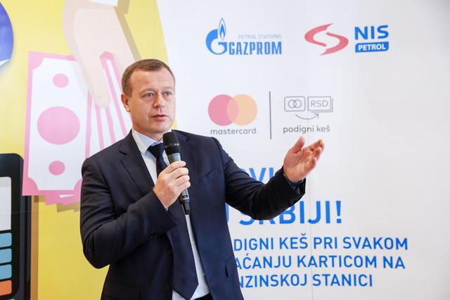 Pavel Kandalincev, direktor Direkcije za maloprodaju NIS-a