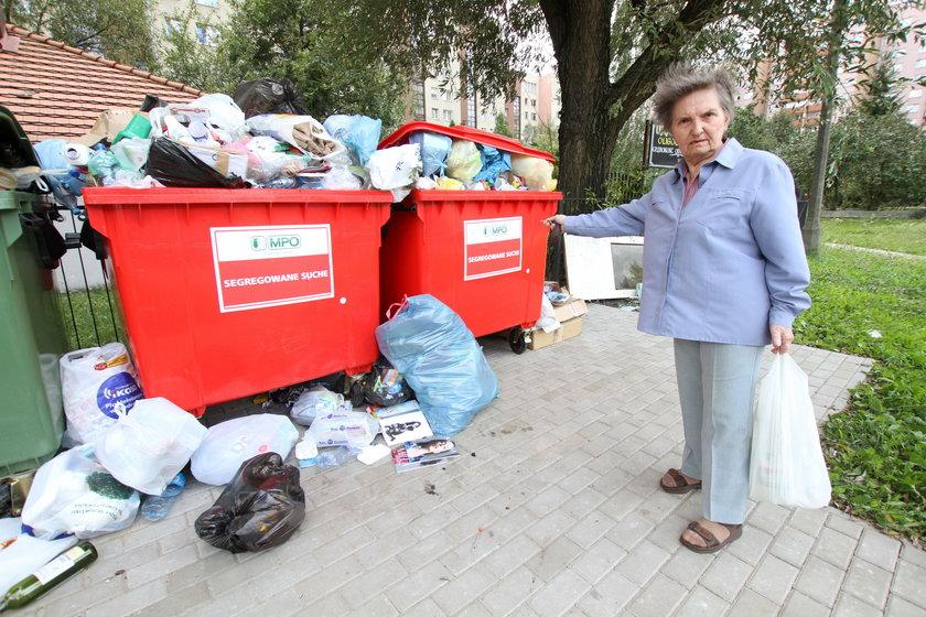 Teresa Towarek (73 l.), mieszkanka ulicy
