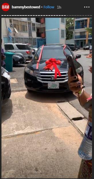 Bam Bam gets car gift from fans on her birthday [Instagram/BammyBestowed]