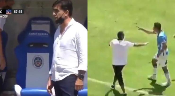 Incident utakmica Bolivija