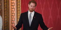 Książę Harry wyszedł z ukrycia. Znamienne zachowanie wobec dziennikarzy