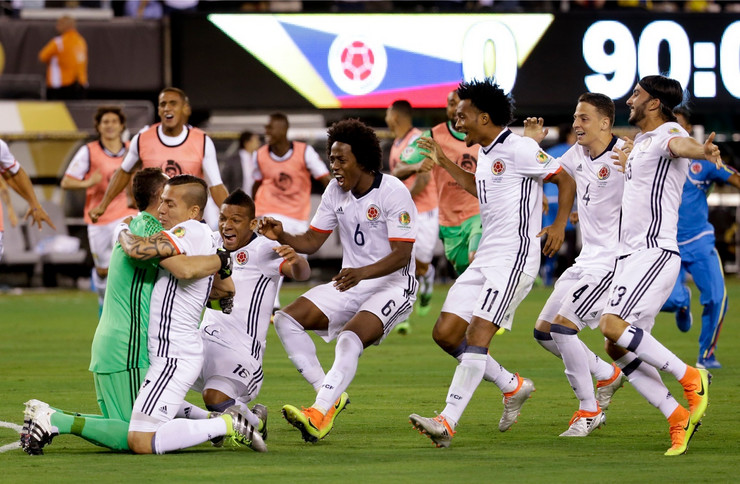 Fudbalska reprezentacija Kolumbije