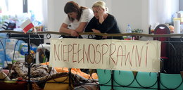 Sejm liczy koszty protestu niepełnosprawnych. Komu dadzą rachunek?
