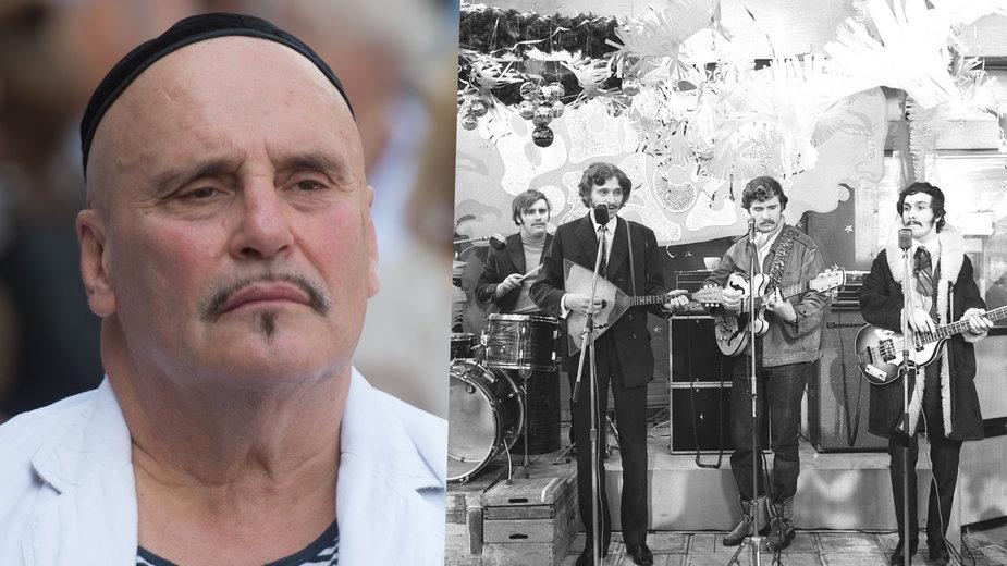 Marian Lichtman i zespół Trubadurzy w 1969 r.