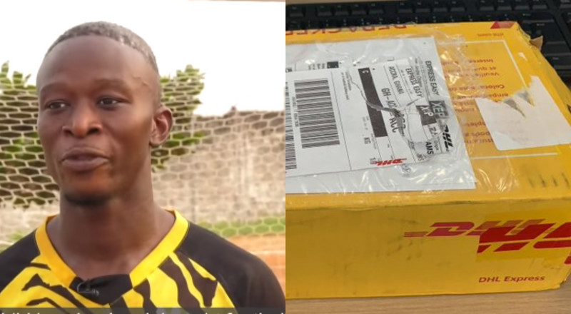 Photo: Andre Onana's 'package' to goalkeeper in prison finally arrives