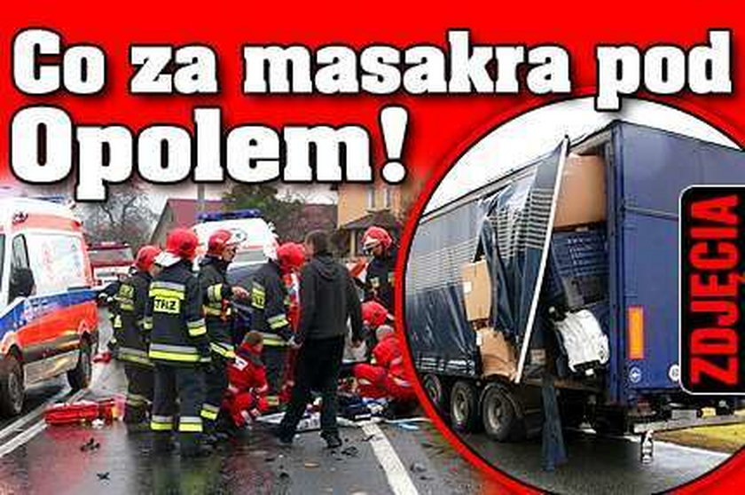 Co za masakra pod Opolem! ZDJĘCIA