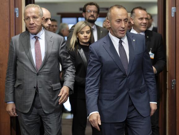 Haradinaj napušta sastanak u Briselu