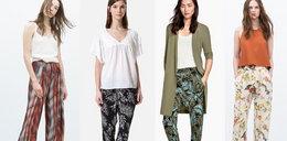 Luźne spodnie na wiosnę