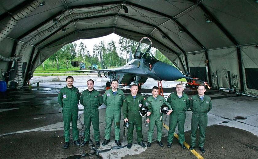 Nasi piloci bronili europejskiego nieba. ZDJĘCIA