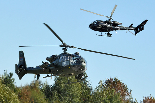 "Helikopteri na ""Letačkom danu"" na Ponikvama"