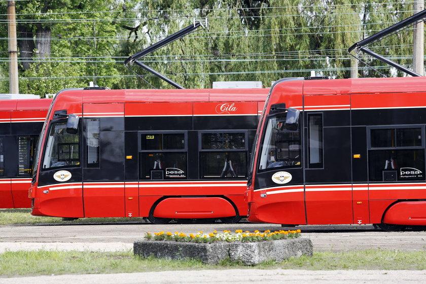 Twisty najnowsze tramwaje w TŚ