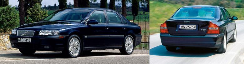 Sedan (długość: 4,8 m) to jedyna wersja nadwoziowa S80.