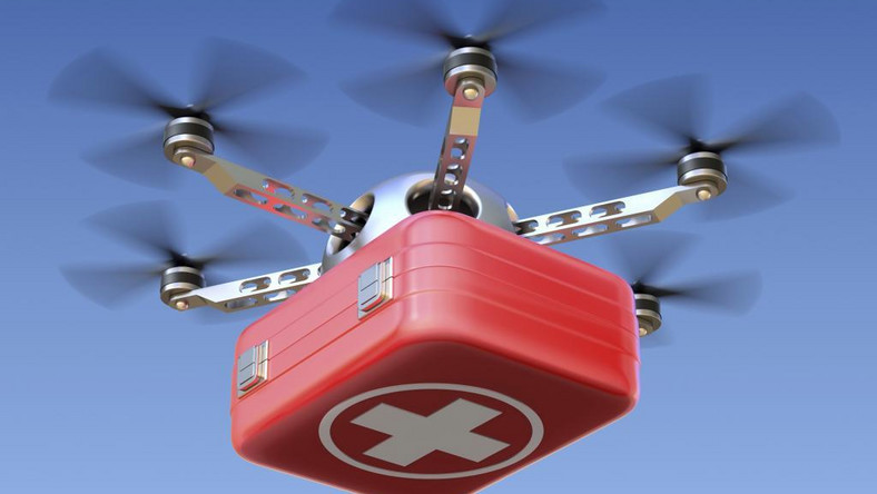 Drones to supply blood and medicines in Ghana
