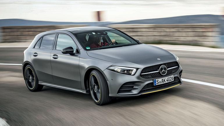 Mercedes Klasy A - klasa a wśród kompaktów