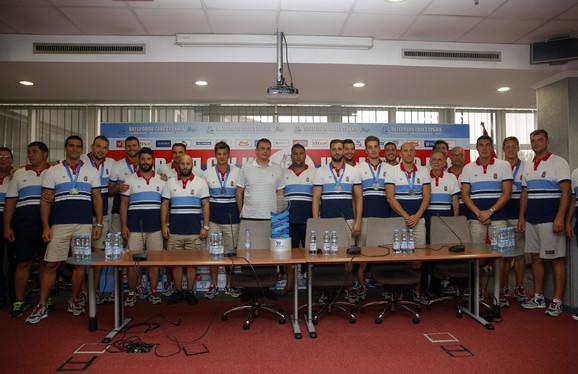 Vaterpolo reprezentacija Srbije, prvak Evrope