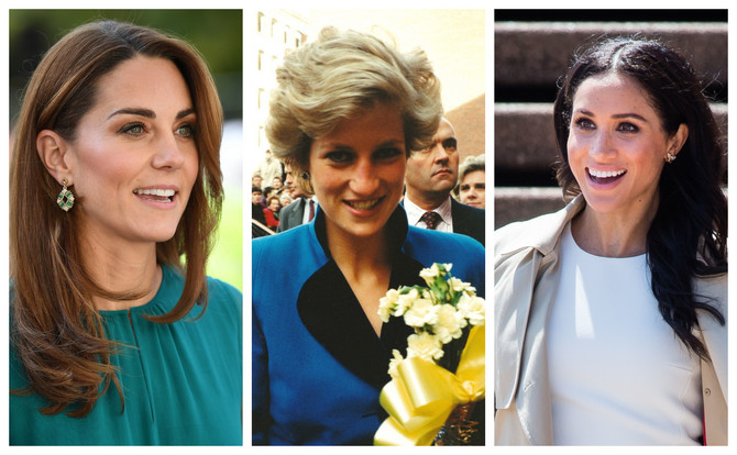 Kejt Midlton, princeza Dajana i Megan Markl