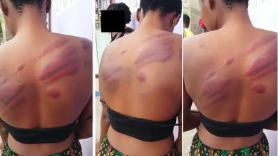 """""""I can't even concentrate and learn"""" – WASSCE candidate flogged by headmaster cries"""