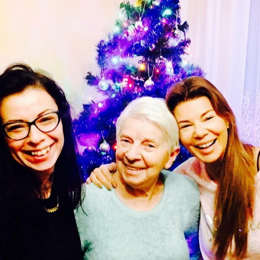 Grażyna Jasik z córkami
