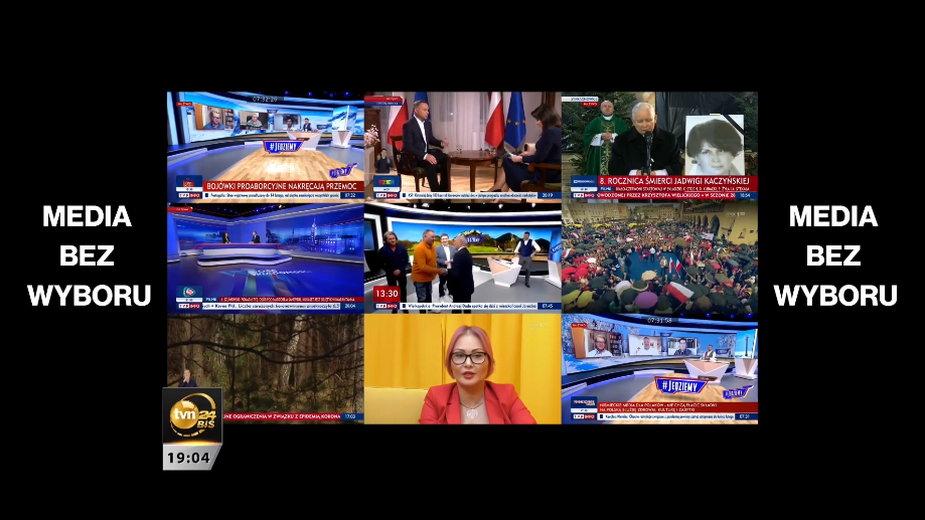 """Materiał """"Faktów"""" TVN na temat działalności TVP w ostatnich miesiącach"""