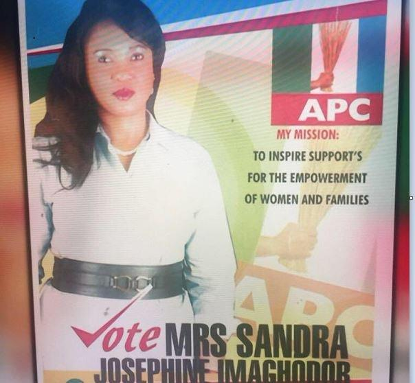 Josephine Iyamu ran for political office in Edo State