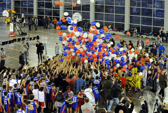 Otvaranje minibasket festivala