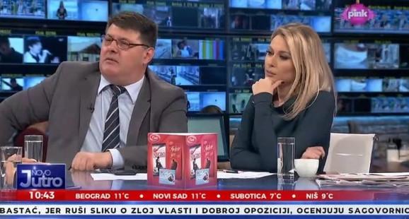 Predrag Sarapa i Dajana Paunović