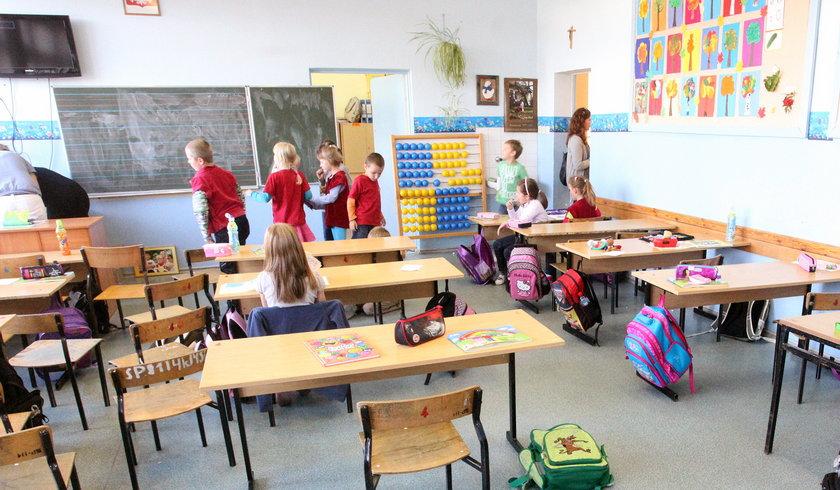 Klasa w szkole w Gdańsku Osowej