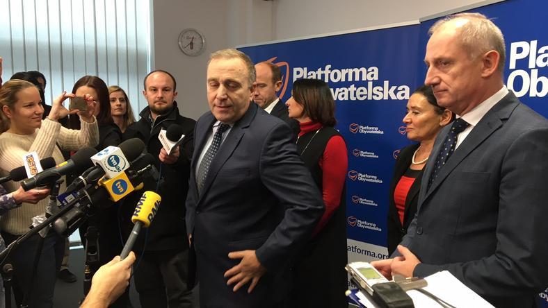 Grzegorz Schetyna: Chybicka najlepszym kandydatem zjednoczonej opozycji na prezydenta Wrocławia