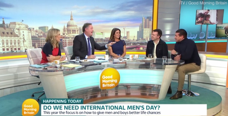 The hosts of Good Morning Britain question if IMD is needed. Image via ITV