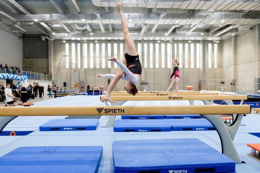 Otwarcie drugiej najnowoczesniejszej sali gimnastycznej w Polsce w ZSS nr 4 im. J. Kusocinskiego w Z